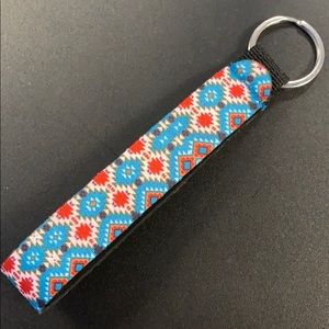 Keychain Fob Wrist Strap AZTEC
